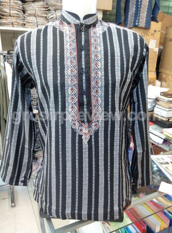Jual grosir baju muslim murah baju koko preview itang yunasz BK-017 ... 3042c53140