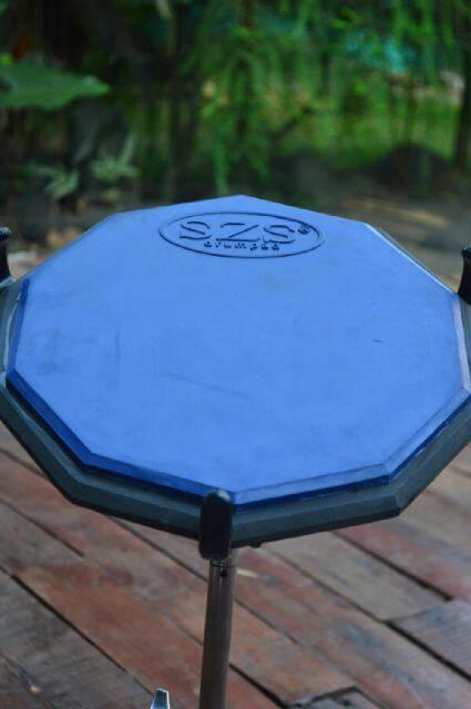 harga Szs drum pad classic 11  (blue) bonus vcd lesson Tokopedia.com