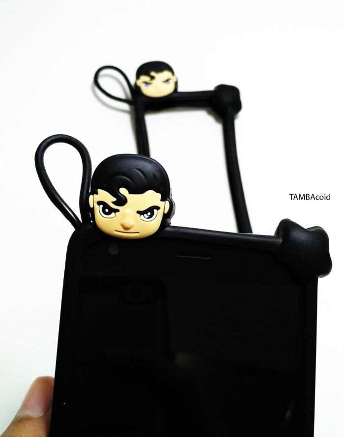 Foto Produk Bumper HP 4 - 7 ich Ring Case Super Man dari TAMBAcoid