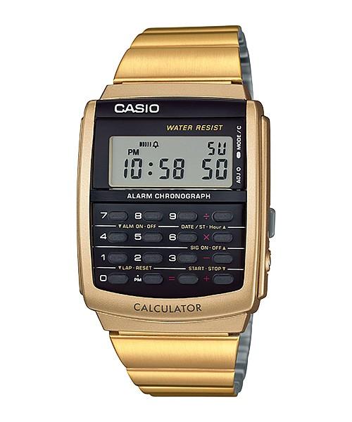 harga Casio Calculator Kalkulator Jam Tangan Gold Ca-506g-9a Original Tokopedia.com