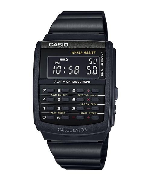 harga Casio Calculator Kalkulator Jam Tangan Hitam Ca-506b-1a Original Tokopedia.com