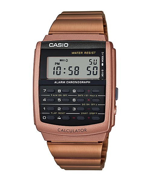 harga Casio calculator kalkulator jam tangan rose gold ca-506c-5a original Tokopedia.com