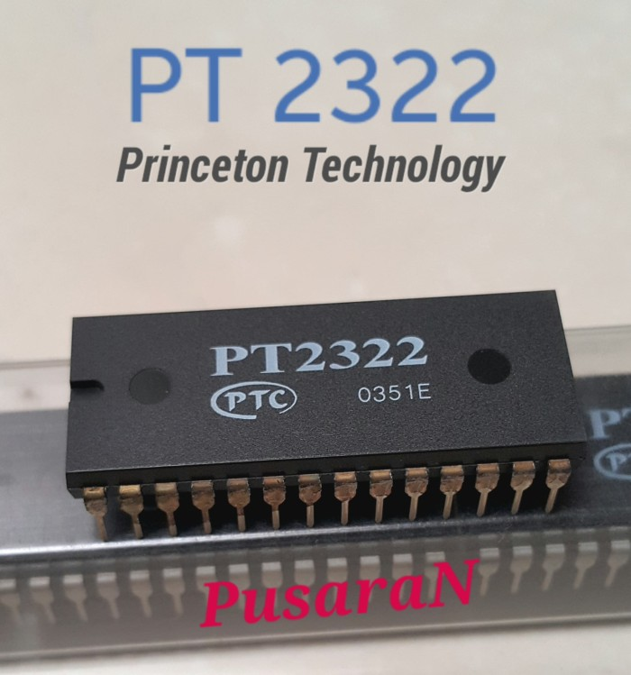 harga Ic pt2322 - pt 2322 - dip - 6ch audio processor for  home theater Tokopedia.com