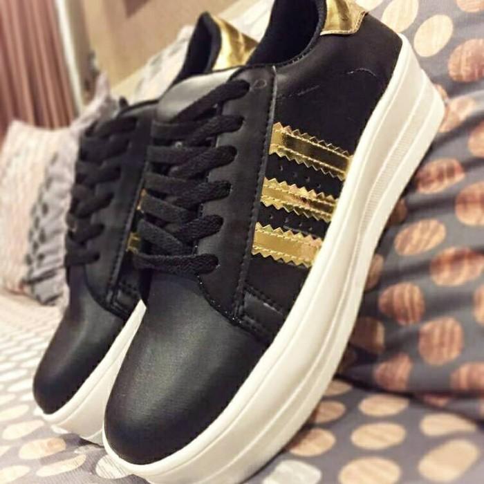 sneakers for cheap ceb5b c7f4a ... canada sepatu platform murah wanita cewek adidas superstar twelve 12  3cf86 8fa83