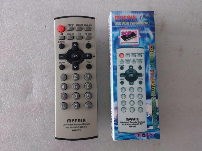 Remot remote TV Tabung Biasa utk Panasonic Tanpa program