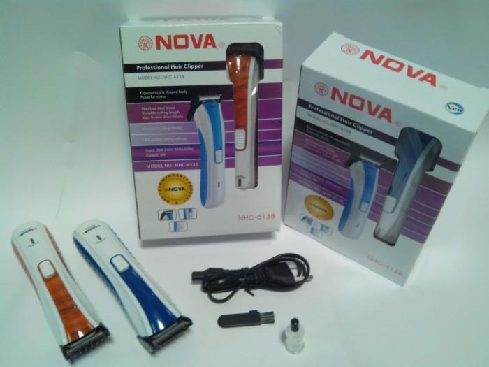 Jual Alat Cukur Rambut Elektric NOVA NHC - 6138 Cukur Kumis dan ... 81758c1564