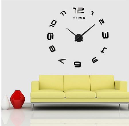 ... harga Jam dinding diy 3d unik minimalis besar - (3m007b) Tokopedia.com f341a4602f