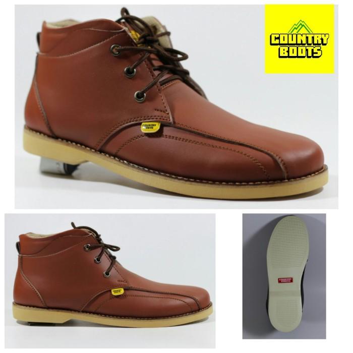 harga Sepatu semi boot adventure hiking pria - country boots original middle Tokopedia.com