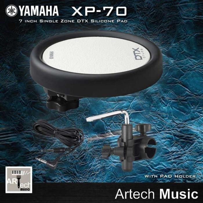 harga Yamaha dtx pad xp70 + tom holder xp 70 untuk drum elektrik Tokopedia.com