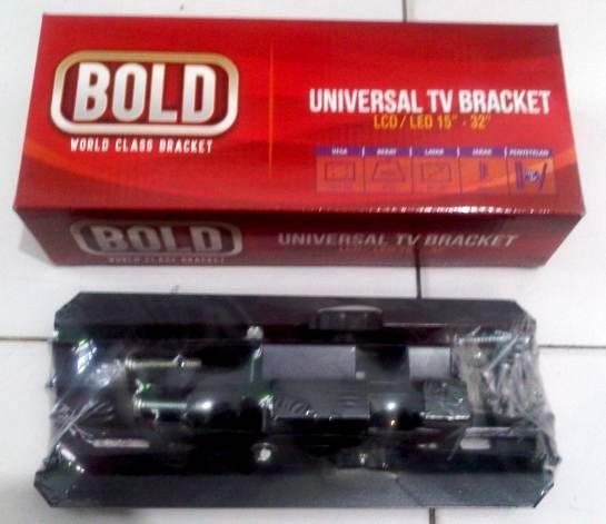 harga Wall braket tv led lcd 15-32  bold in bracket breket dinding universal Tokopedia.com