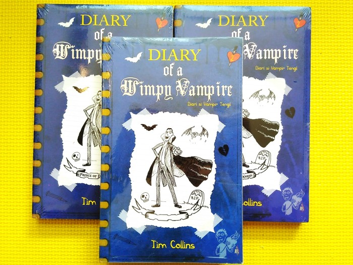 harga Diary of a wimpy vampire #2 : prince of dorkness (tim collins) Tokopedia.com