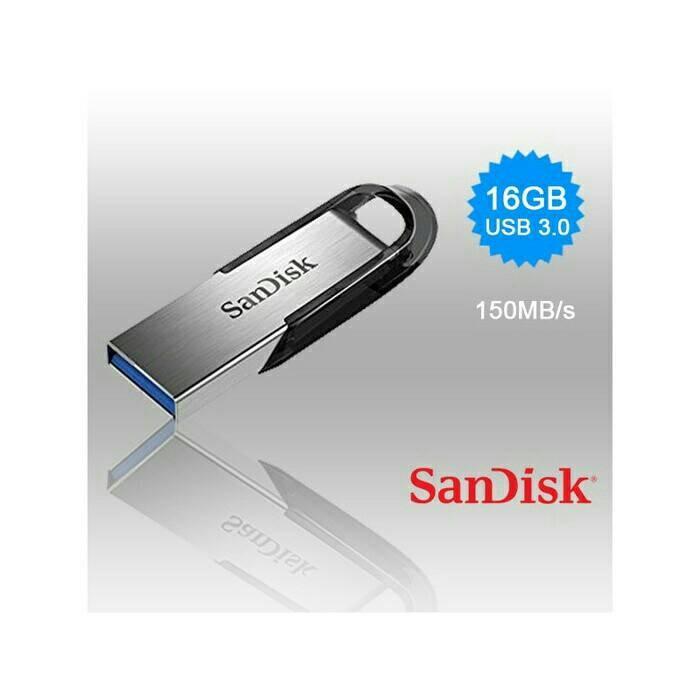 Foto Produk Sandisk Flashdisk Ultra Flair CZ73 16GB / Flash Drive USB 3.0 dari Raja Storage