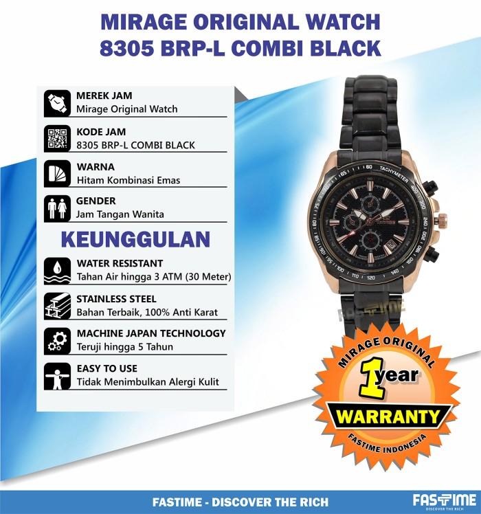 Jam Tangan Pria Original Mirage Mr552kndy Strap Rantai Daftar Source · Berapa Harga Mirage Jam Tangan