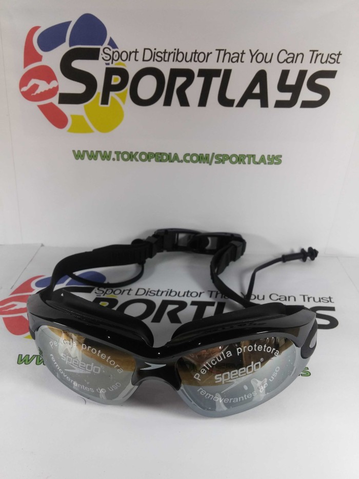 Jual Kacamata Renang Speedo LX 1000 Hitam - Sportlays  3696c808f1