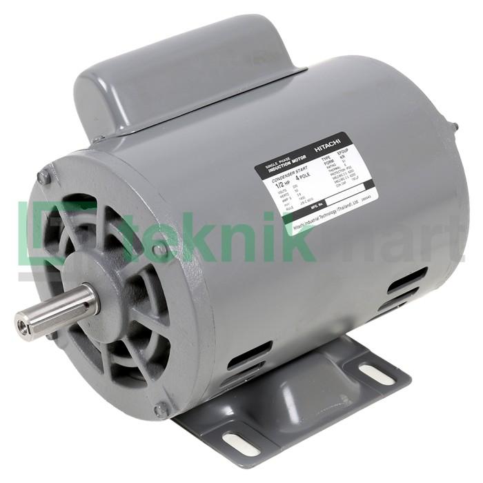 harga Dinamo motor / electro motor hitachi 1/2 hp 4pole (373 watt) Tokopedia.com