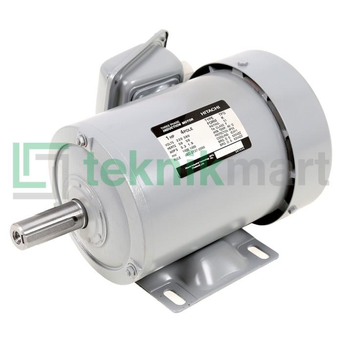harga Dinamo motor / electro motor hitachi 1hp 3phase 4pole (750 watt) Tokopedia.com