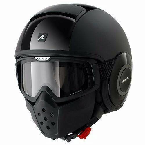 harga Helm shark raw dual black glossy doff half full sporty original Tokopedia.com