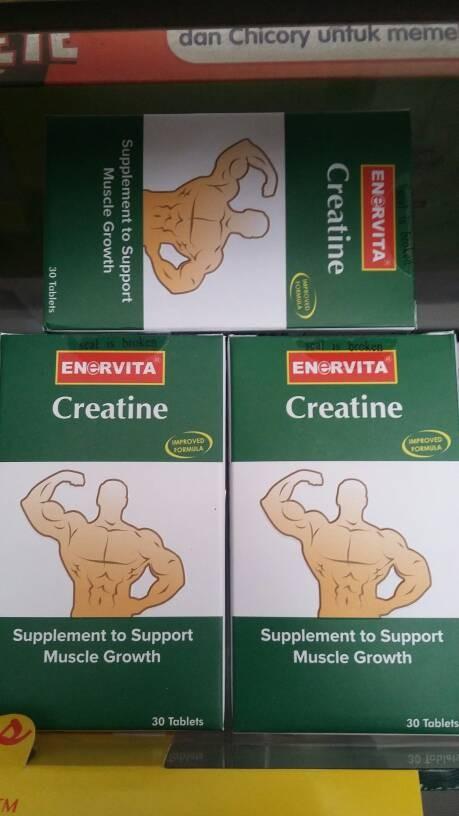 harga Enervita creatine isi 30 tablet Tokopedia.com