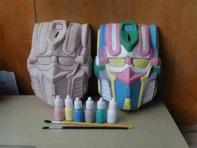 harga Mainan unik & kreatif mewarnai sendiri celengan robot transformer Tokopedia.com