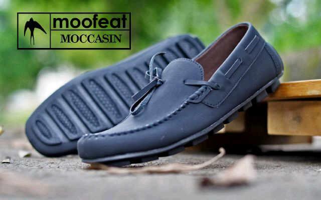 Jual Sepatu Moofeat Moccasin Casual Santai Pria Original - ROSH ... 7ca8e066da