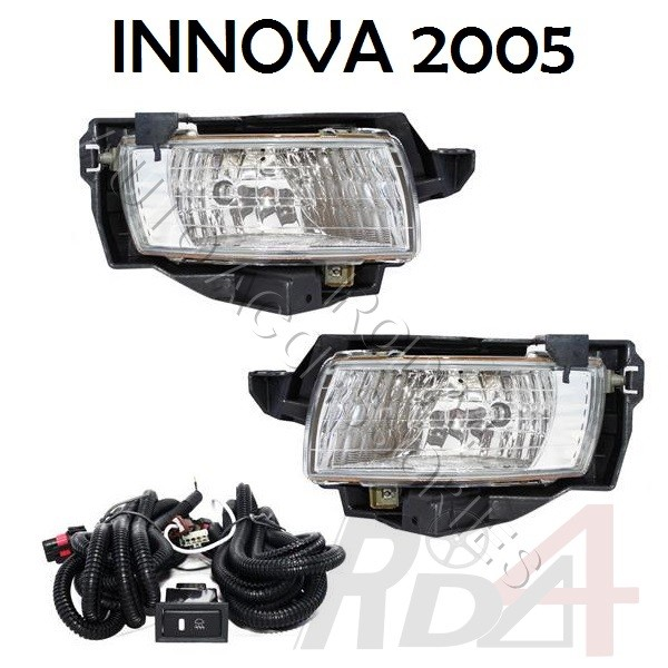 Fog lamp / foglamp / lampu kabut innova old / new / grand. Mobil :