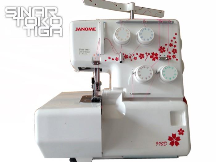 harga Janome 990d / mesin jahit tepi obras 4 benang / neci rollsum 990 d Tokopedia.com