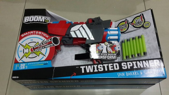 harga Boomco twisted spinner blaster Tokopedia.com