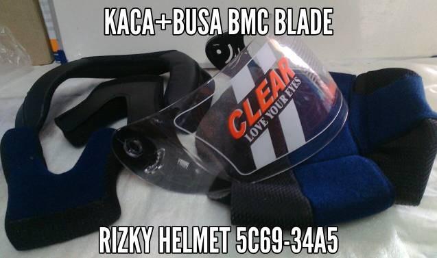 harga Kaca helm+busa helm bmc blade Tokopedia.com