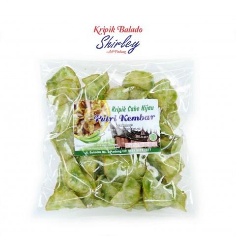 harga Kripik balado cabe hijau bulat shirley 250 gram Tokopedia.com