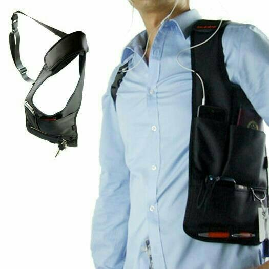 Tas gadget pundak bahu army polisi FBI agen 007 bag organizer