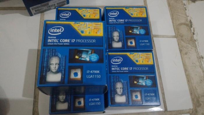 harga Processor Intel I7 4790k Haswel Refresh Devil Canyon Lga 1150 Tokopedia.com