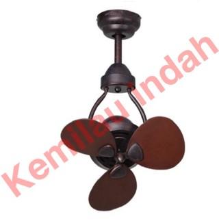 harga Kipas angin mt edma type mini 15  3 blade ceiling fan wallnut Tokopedia.com