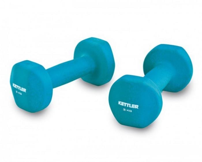 harga Neoprene dumbell 2 pcs set 6kg aerobic/fitnes/senam biru muda kettler Tokopedia.com