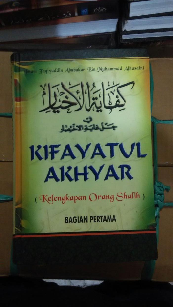 harga Terjemah kifayatul akhyar ( kelengkapan orang shalih ) Tokopedia.com