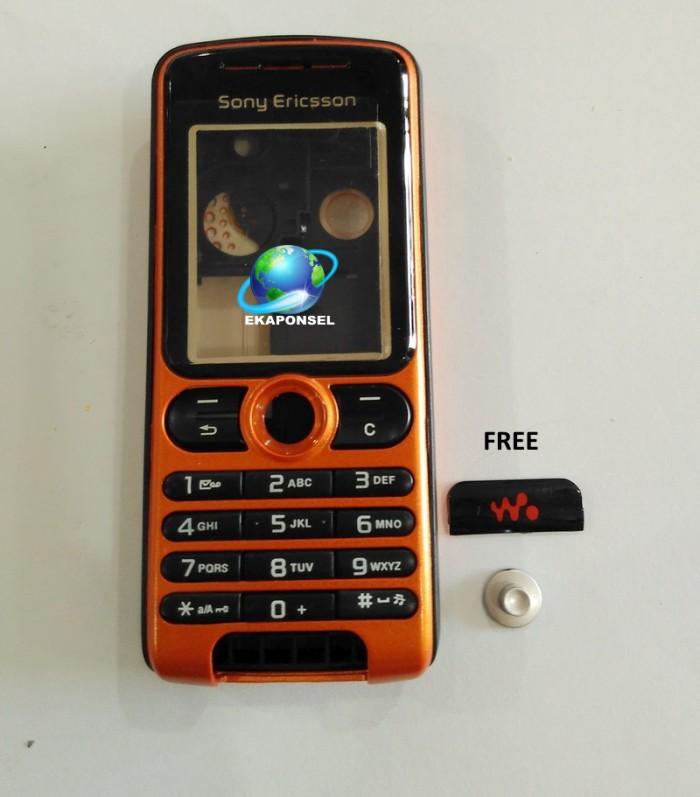 harga Sony ericsson w200i casing +tulangan - orange Tokopedia.com