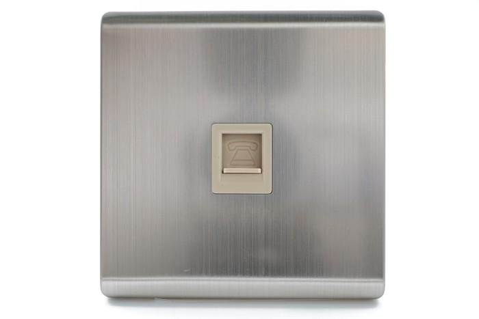 harga L6 - outlet telepon / telpon / telp rumah socket minimalist modern Tokopedia.com
