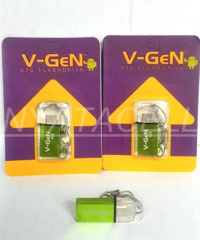 Flashdisk Vgen OTG 8GB /8 GB ORIGINAL 100% /Flash Disk/Dual USB