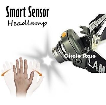 harga Senter kepala / head lamp smart sensor xpe 500 lumens Tokopedia.com