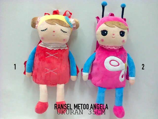 harga Tas ransel anak boneka metoo angela korea cute Tokopedia.com