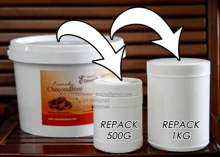 harga (repack 1 kg) elmer crunchy chocomaltine 1kg (duplikat ovomaltine) Tokopedia.com
