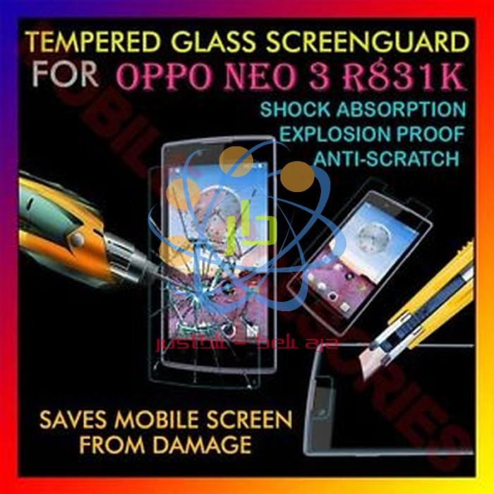 ... Anti Gores Kaca Screen Guard Protector -CLEAR. Source ... Tempered Glass Oppo Neo 3 Neo K R831K Screen Protector .