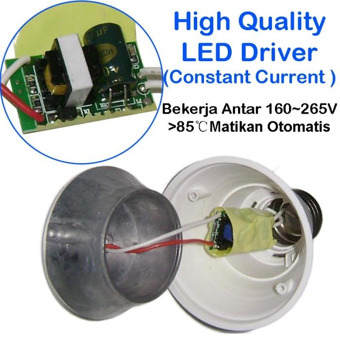 EELIC CAHAYA TERANG BOHLAM LAMPU LED SIP LITE Globe 80mm S-9 Watt