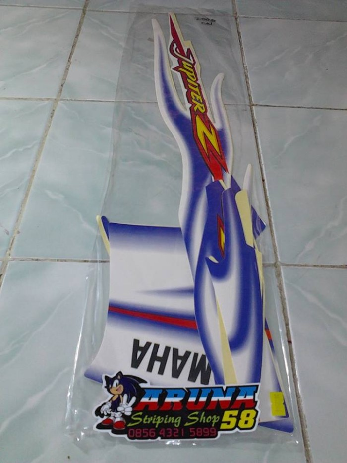 harga Striping/sticker lis motor jupiter z cw 2005 #1 Tokopedia.com
