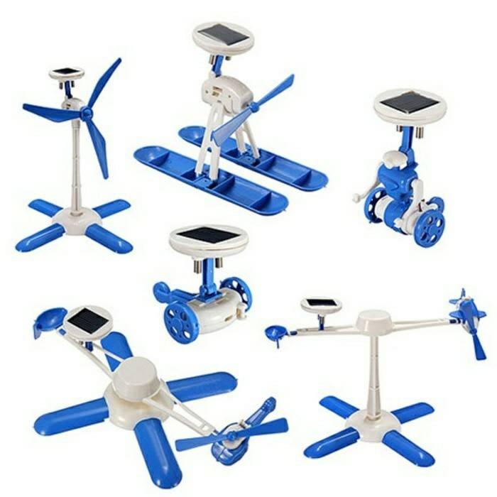 harga 6in1 robot solarcell / panel surya / tenaga matahari / solar cell Tokopedia.com
