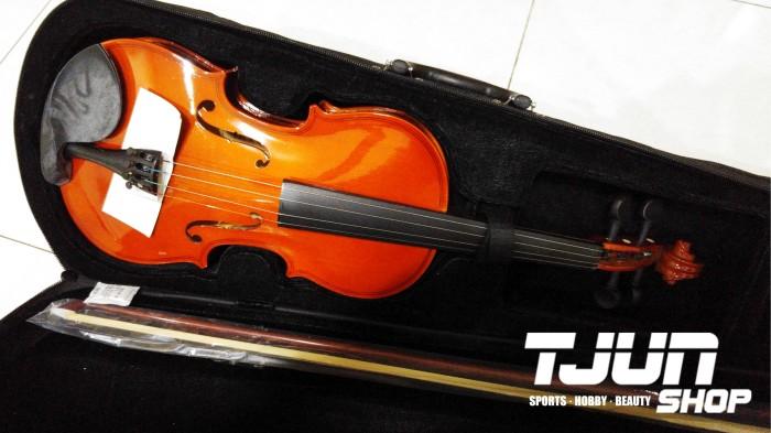 Violin / Biola CAVI merk Cavalier import ukuran 1/2 3/4 4/