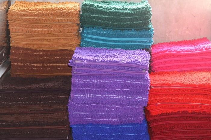 jual high quality microfiber chenille anti slip floor mats keset lantai micro fiber ag. Black Bedroom Furniture Sets. Home Design Ideas