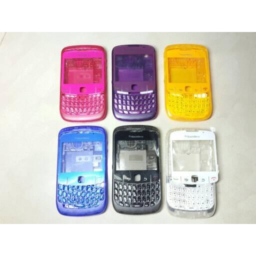 harga [ min 5 pcs ] : casing blackberry bb gemini 8520 fullset transparan Tokopedia.com