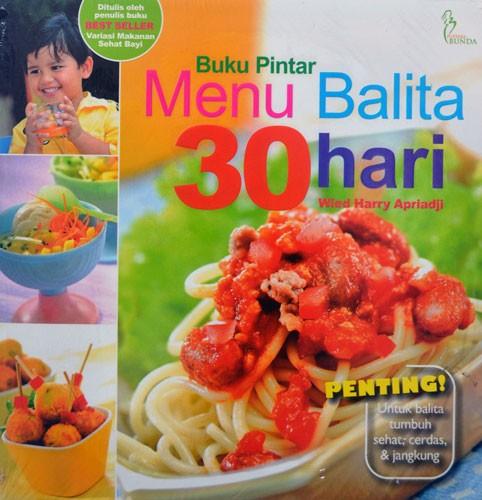 harga Buku pintar menu balita 30 hari (wied harry) Tokopedia.com