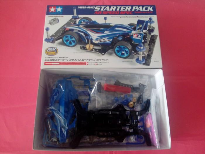 ... Tamiya 95210 Mini 4WD Starter Pack AR Speed Spec Aero Avante