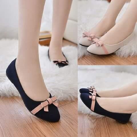8d542487d667 ... harga Flatshoes murah sepatu sandal wanita simple cantik wedges heels  santai Tokopedia.com